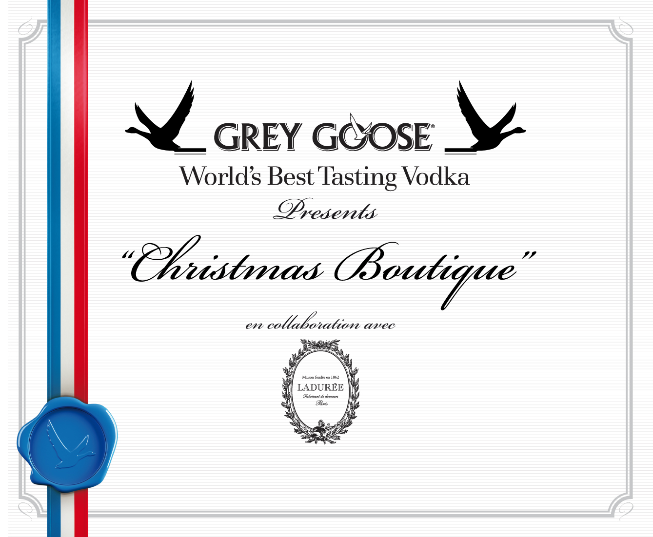 Grey Goose Christmas Boutique 2011